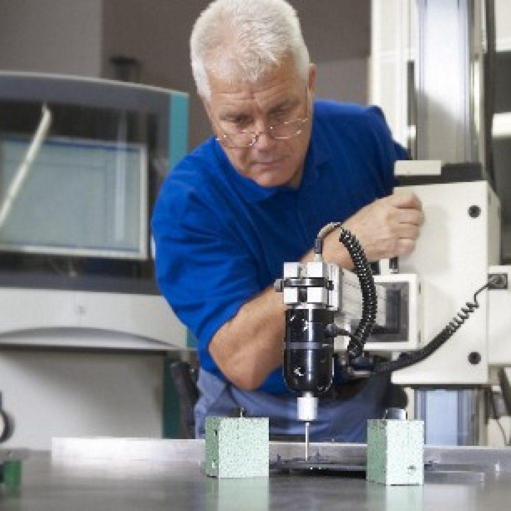 Erste 3D-Messmaschine