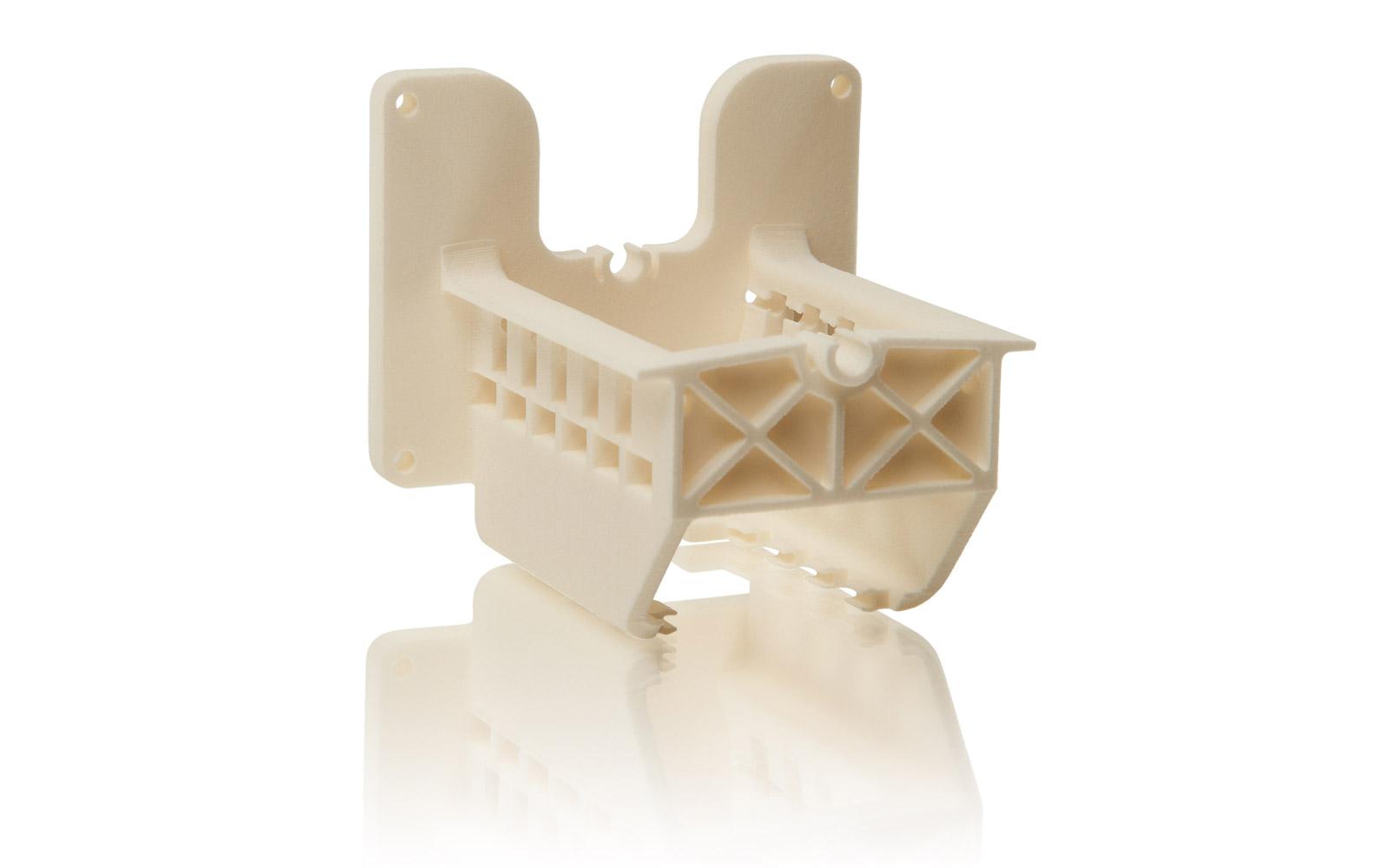 SLS gefertigte Teile eignen sich z. B. als Funktionsmodelle