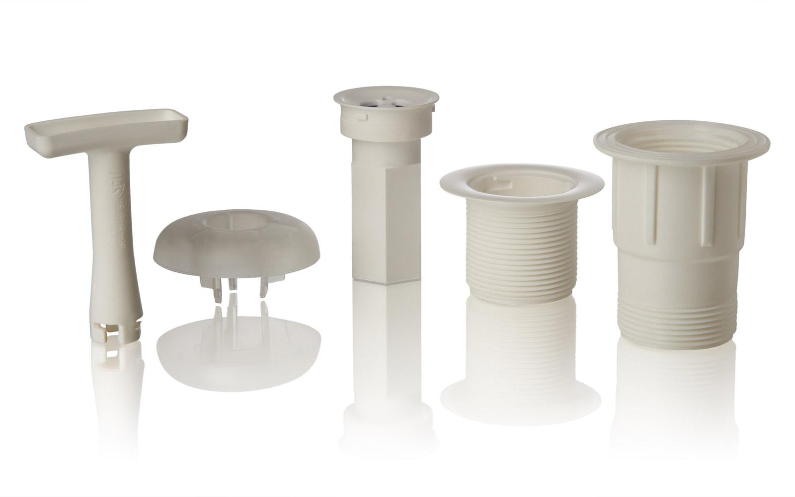 Wir sind in der Lage, spritzgusstechnische Formteile von 2 bis 1600 g Stückgewicht herzustellen.