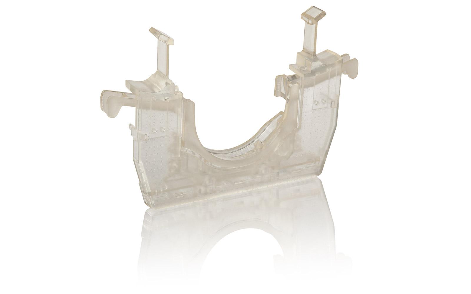 Mittels der verschiedensten Oberflächenbehandlungen geben wir in Stereolithographie gefertigten Teilen ein individuelles Aussehen.