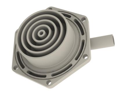 CNC Kunststofffrästeil 2